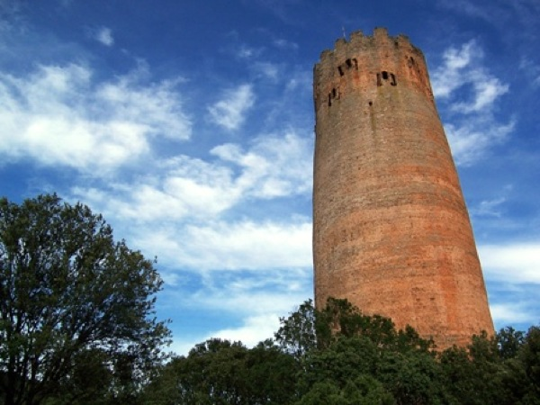 Vista de la torre de Vallferosa del  s.x - Vallferosa