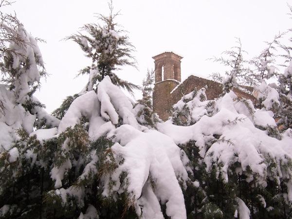 28.01.2006 Vista del convent  Torà -  J.Gatnau Grau
