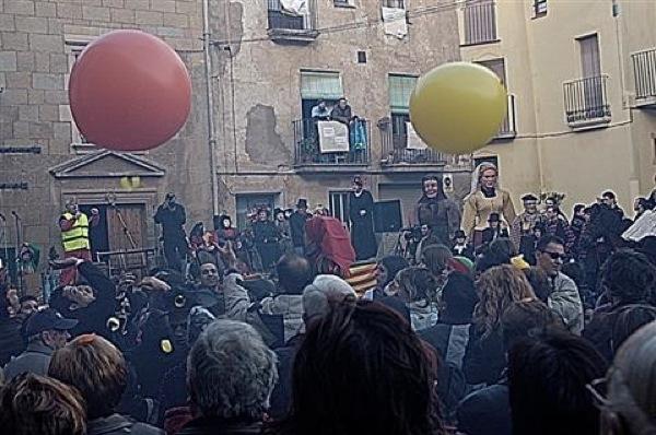 Públic del carnaval - Torà