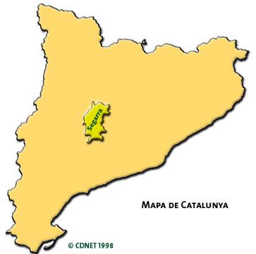 situació de la segarra Foto: cdnet - Torà