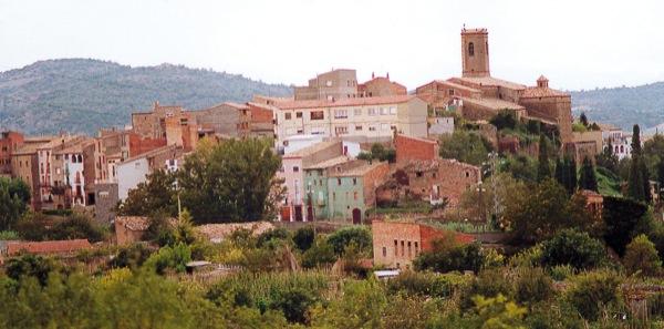 04.02.2005 Vista des de l'est  Torà -  Ramon Sunyer