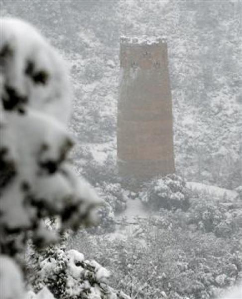 28.01.2006 Torre Vallferosa  Vallferosa -  Xavi