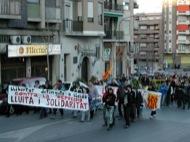 Lleida: Manifestació pels carrers  Altres