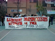 Manresa: Manifestació pels carrers  Altres