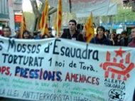 Lleida: Manifestació pels carrers  Alerta Solidària