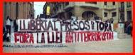 Lleida: Manifestació pels carrers  Ramon Santesmasses