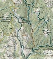Torà: itinerari 29a caminada Torà  apact