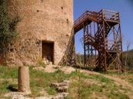 Vallferosa: Escales d'accés a la torre  Lola Lucas