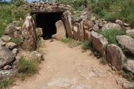 Llanera: Dòlmen de la Torre dels Moros: vista exterior