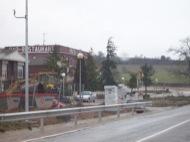 Radar situat al costat del restaurant Prats Jardí