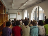 Alumnes de l'escola sant gil de Torà