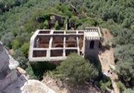 Vallferosa: Sant Pere, des de la terrasa de la torre.  Xavier Sunyer