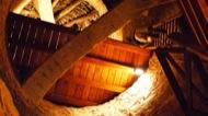 Vallferosa: Interior torre. Accès segon pis.  Xavier Sunyer