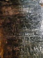 Vallferosa: Grafits interior torre  Xavier Sunyer