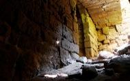 Llanera: Castell de Llanera. Interior. El sector més antic, anterior al XVI, és el més ben conservat.  Xavier Sunyer