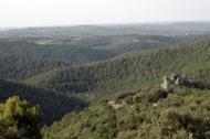 Llanera: El castell de Llanera i el seu entorn vist des de Santa maria de Llanera  Xavier Sunyer