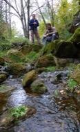 Llanera: Riu llanera. Durant la tardor, si ha estat plujosa, el llanera acostuma a portar molta aigua.Les nombroses fonts de la seva capçalera l'abasteixen  Xavier Sunyer