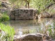 Fontanet: La  roca quadrada al Llanera  Ramon Sunyer