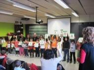 acte celebració del distintiu Escola Verda