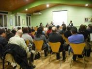 debat sobre l€™extensió de les centrals eòliques a la Segarra