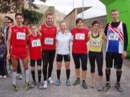 Participants a la 4 cursa atlètica de Torà