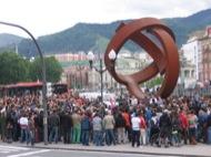 Bizkaia: Manifestació a Bizkaia