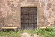 Sant Serni: detall de la porta de l'església de sant serni  Ramon Sunyer