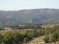 Sant Serni: Torre de Vallferosa des de sant Serni  Ramon Sunyer
