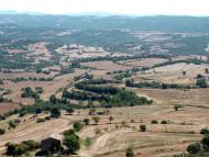 Puigredon: Vista dels plans des del Tossal  Isidre Blanc