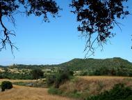 Puigredon: Vista del Tossal de les Feixes  Isidre Blanc