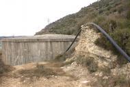 L'Aguda: El dipòsit d'aigua potable  Ramon Sunyer