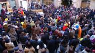 Torà: La plaça del pati  Xavi