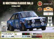 Cartell de la 11a edició de la Nocturna Clàssic Ral·li