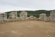Vallferosa: Merlets i terrassa després de la intervenció arquitèctònica  Joan Menchon