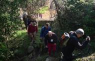 Puigredon: Pujant per la font dels Caus  Xavi