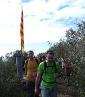 Puigredon: la senyera tamb  Xavi