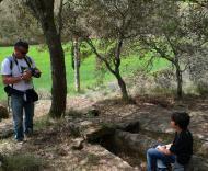 Vallferosa: El clot dels nens Xics  Xavi
