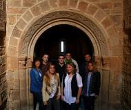 Torà: Posant al monestir de Cellers  Xavi