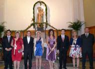 Torà: Posant a l'altar del Roser  Xavi