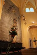 Torà: Dins Església S.Gil  Anna GG