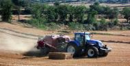 Torà: Embaladora prop de Selvanera  Josep Gatnau