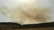 Incendi de Pujalt del dimecres 27 de juny
