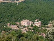 Llanera: Vista general del castell de Llanera  Isidre Blanc