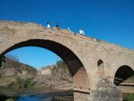 Torà: Pont de les merites  ramon