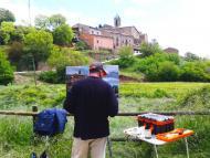 Pinós: Concurs de pintura Ràpida