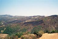 L'Aguda: Vistes de la serra de Claret  Ramon Sunyer