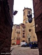 Torá: Plaça de l'església de Torà  Carmen Aparicio