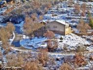 Torà: Nevada del 2010Des del camí de darrera l'guda  Carmen Aparicio