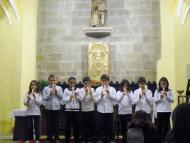 Torà: Concert de Nadal dels alumnes de l'escola sant Gil  CC Segarra