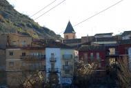 Castellfollit de Riubregós: Detall del poble  Ramon Sunyer